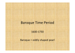 Baroque Time Period