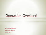 Operation Overlord - Mrs. Parsons Class