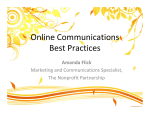 Online Communications Best Practices