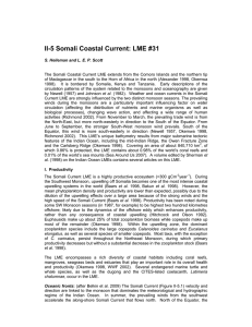 II-5 Somali Coastal Current LME