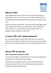 What is CPE? If I have CPE, will I need treatment? About CPE