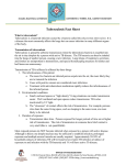 Tuberculosis Fact Sheet - New Mexico Department of Health