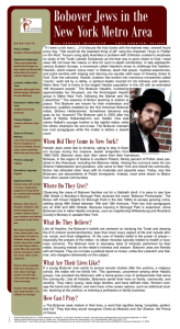 Bobover Jews in the New York Metro Area