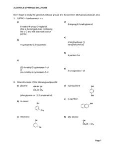 Don`t forget to study the generic functional groups and the common
