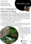 The Challenge of Political Ecology.