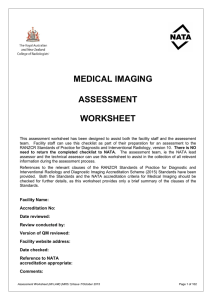 Medical Imaging Assessment Worksheet