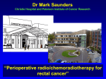 Perioperative radio/chemoradiotherapy for rectal cancer