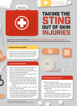 skin injury infographic handout - National Athletic Trainers` Association