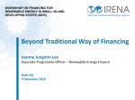 Beyond traditional way of financing