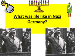 life like in Nazi Germany