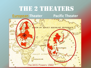 WWII - The European Theater