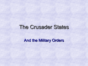 The Crusader States2