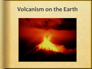 volcanism - Edgartown School
