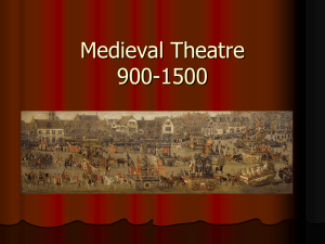Medieval Theatre - Westerville City Schools