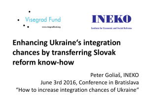 How to increase integration chances of Ukraine