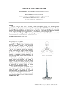 Engineering the World`s Tallest - Burj Dubai
