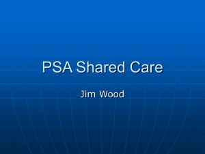 PSA Shared Care - The Castle Practice