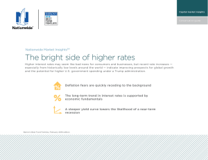 The bright side of higher rates