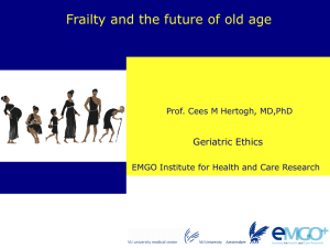 Fried et al, 2001 - EMGO Institute for Health and Care Research