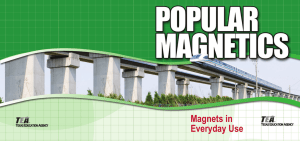 Magnets in Everyday Use