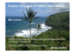 Future Changes in ENSO Discussion
