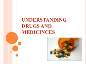 understanding drugs and medicinces what is the