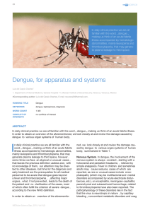 Dengue, for apparatus and systems