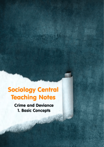 Basic Concepts - Sociology Central