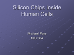 Silicon Chips Inside Human Cells