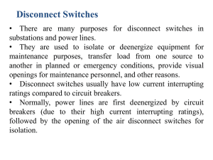 Disconnect Switches
