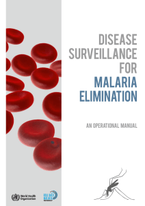 Disease surveillance for malaria elimination