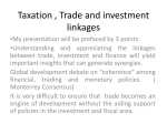 Taxation, Trade and investment - Jane Nalunga
