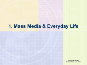 Understanding Mass Media Today