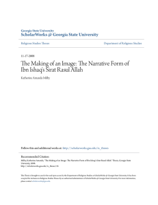 The Narrative Form of Ibn Ishaq`s Sirat Rasul Allah