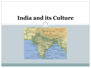 India and its Culture Indus Valley Civilization