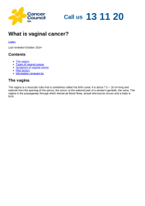 What is vaginal cancer?