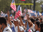 II. Basis of Citizenship