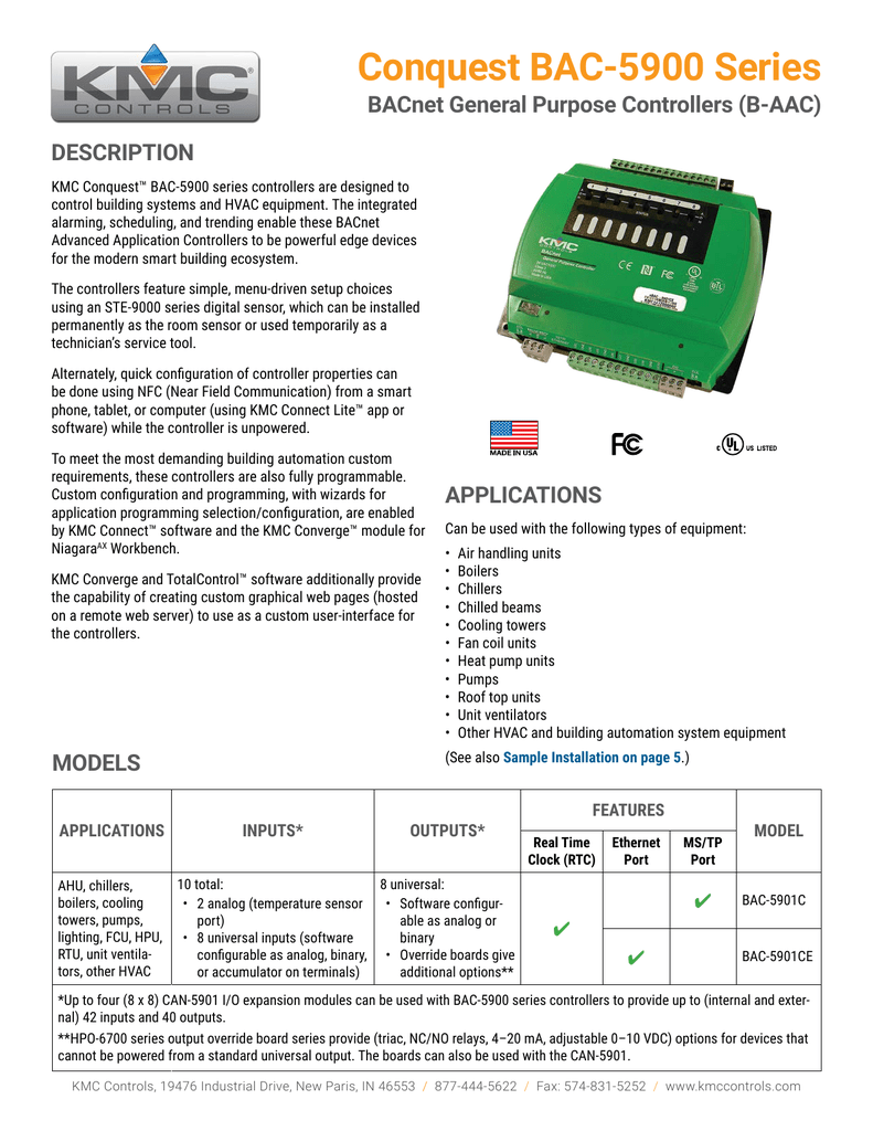 KMC HPO-6705 AC//DC - KMC Relay normally closed contacts
