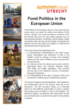 Food Politics.indd - University College Roosevelt