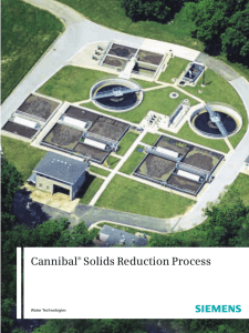 Cannibal Solids Reduction Process