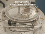 Halfwave Plate Polarization Modulators