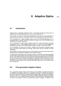 8. Adaptive Optics