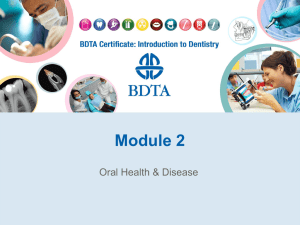 Periodontal Diseases - Introduction to Dentistry