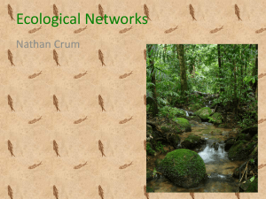Ecological Networks - ChaosAndComplexity
