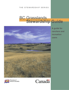 bc grasslands stewardship guide.indd