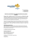 mountain lake minerals inc announces of private placement offering