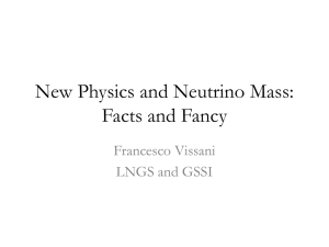 Neutrino mass and New Physics: Facts and Fancy
