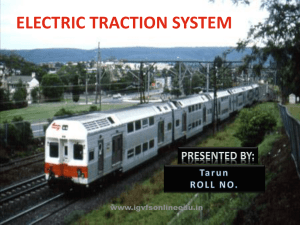 Electrical Traction Sytsem