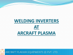 WELDING INVERTERS AT ARCRAFT PLASMA AC Line voltage
