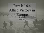 16.4 The Allied Victory